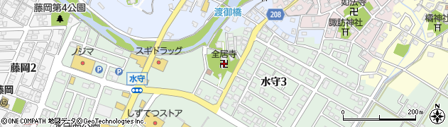 全居寺周辺の地図