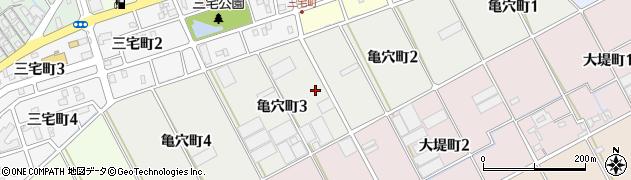 愛知県碧南市亀穴町周辺の地図