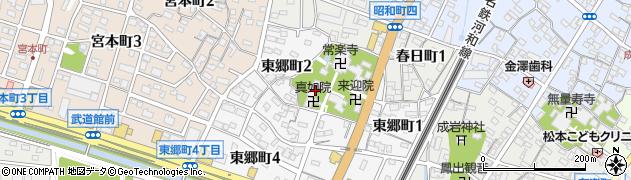 超世院周辺の地図