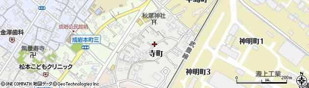愛知県半田市寺町周辺の地図