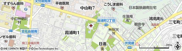 貞照院周辺の地図