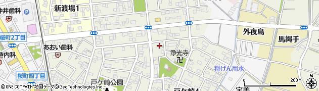大正庵釜春西尾支店周辺の地図