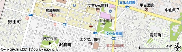 珈琲家族周辺の地図