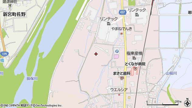 〒679-4109 兵庫県たつの市神岡町東觜崎の地図