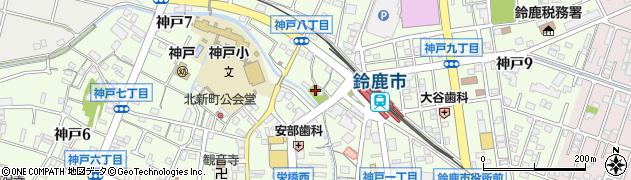 毘沙門天神社周辺の地図