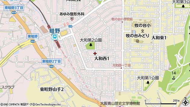 〒666-0112 兵庫県川西市大和西の地図