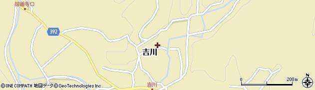 愛知県新城市吉川(殿貝津)周辺の地図