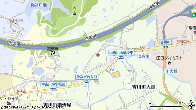 〒673-1116 兵庫県三木市吉川町大畑の地図