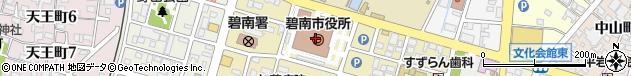愛知県碧南市周辺の地図
