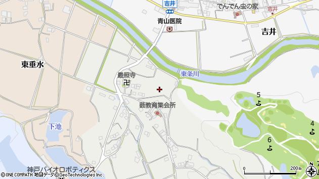 〒673-1335 兵庫県加東市藪の地図