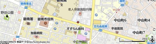 乙周辺の地図