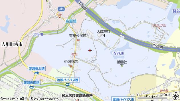 〒673-1107 兵庫県三木市吉川町有安の地図