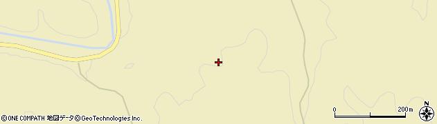 愛知県新城市上吉田(香木立)周辺の地図
