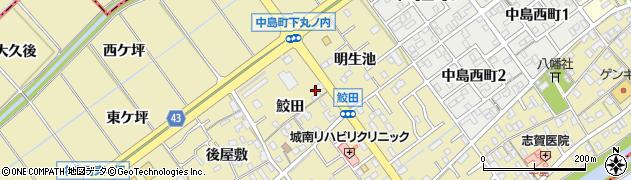 いっとく周辺の地図