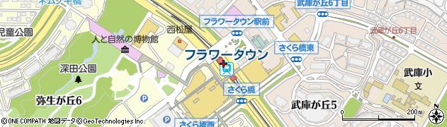 兵庫県三田市周辺の地図