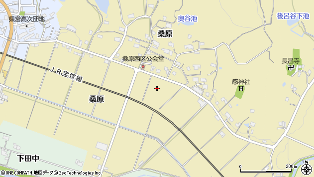 〒669-1521 兵庫県三田市桑原の地図
