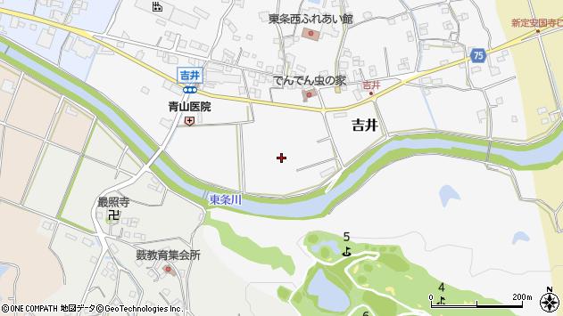 〒673-1334 兵庫県加東市吉井の地図
