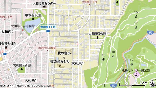 〒666-0111 兵庫県川西市大和東の地図