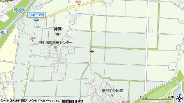 〒679-4113 兵庫県たつの市神岡町田中の地図