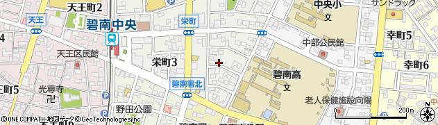 紋呂周辺の地図