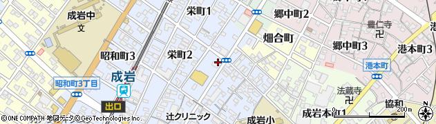 トラジ半田店周辺の地図