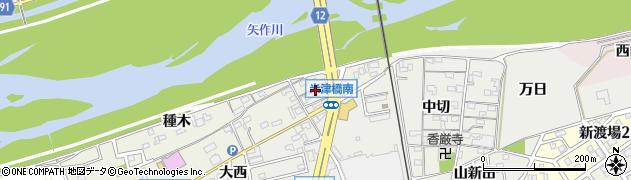 愛知県西尾市米津町(川向)周辺の地図