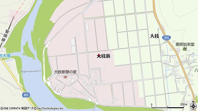 〒678-1276 兵庫県赤穂郡上郡町大枝新の地図