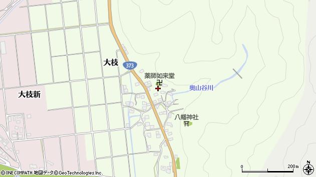 〒678-1275 兵庫県赤穂郡上郡町大枝の地図