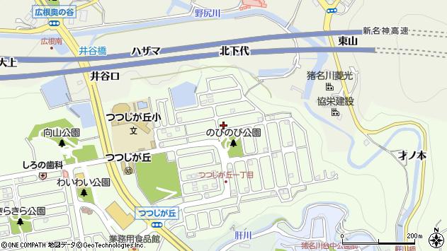 〒666-0245 兵庫県川辺郡猪名川町つつじが丘の地図