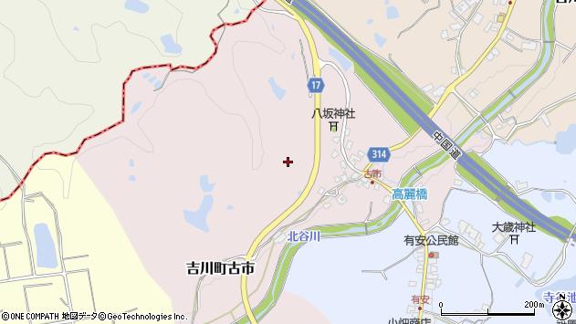 〒673-1108 兵庫県三木市吉川町古市の地図