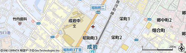 源蔵・半田店周辺の地図