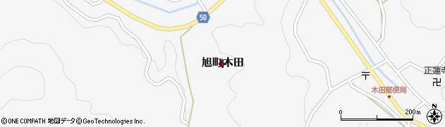 島根県浜田市旭町木田周辺の地図