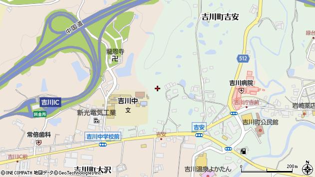 〒673-1114 兵庫県三木市吉川町吉安の地図