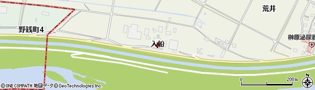 愛知県西尾市米津町(入船)周辺の地図