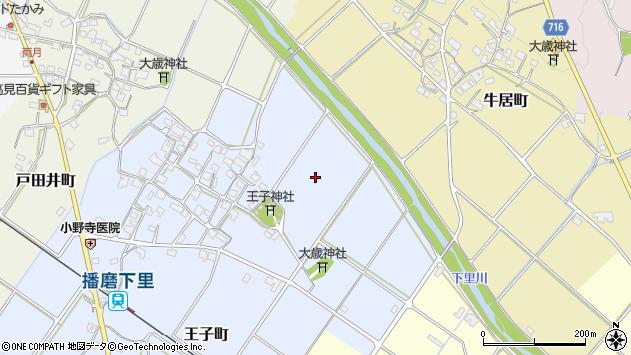 〒675-2231 兵庫県加西市王子町の地図