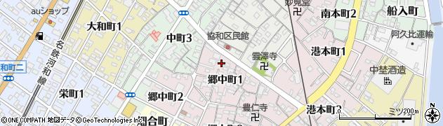 ひろこ周辺の地図