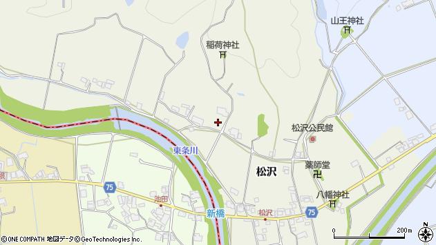 〒673-1337 兵庫県加東市松沢の地図