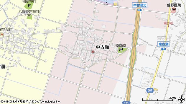 〒673-1424 兵庫県加東市中古瀬の地図