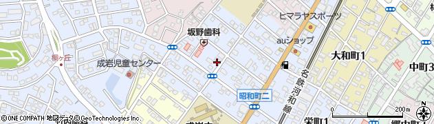 愛知県半田市天神町周辺の地図