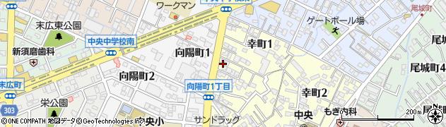 キャロル焼肉ハウス周辺の地図
