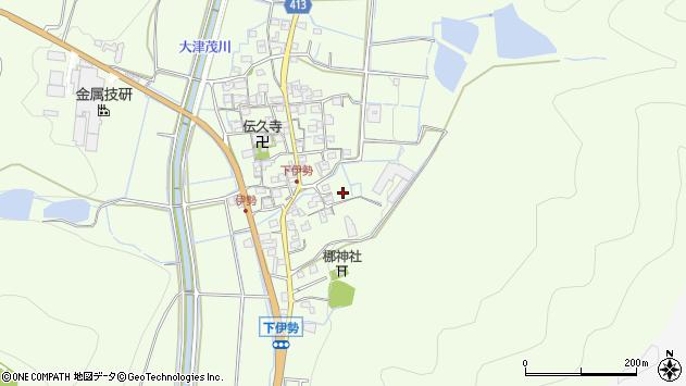 〒679-4233 兵庫県姫路市林田町下伊勢の地図