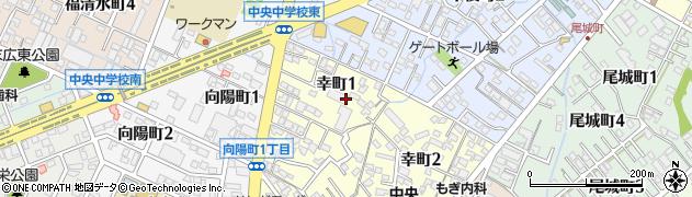 株式会社センターミール愛知周辺の地図