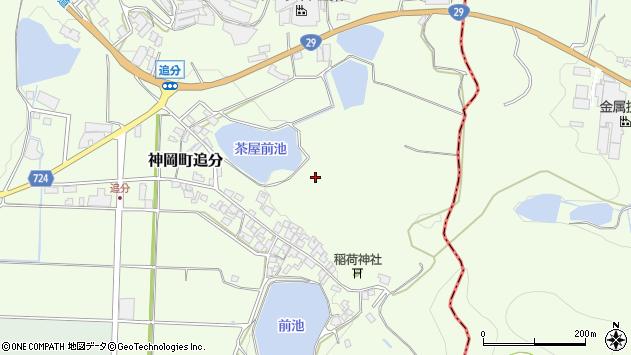 〒679-4112 兵庫県たつの市神岡町追分の地図
