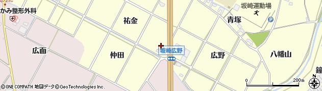 レストランぐるめ周辺の地図