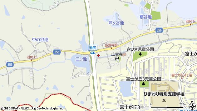 〒669-1548 兵庫県三田市池尻の地図