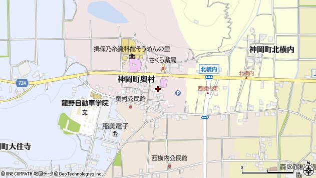 〒679-4101 兵庫県たつの市神岡町奥村の地図