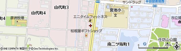 ゴンネ周辺の地図