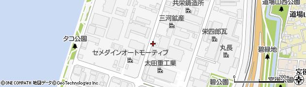 愛知県碧南市須磨町周辺の地図