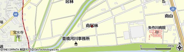 愛知県安城市藤井町(南居林)周辺の地図