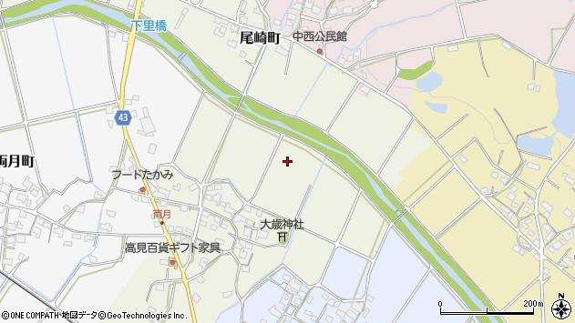 〒675-2232 兵庫県加西市戸田井町の地図